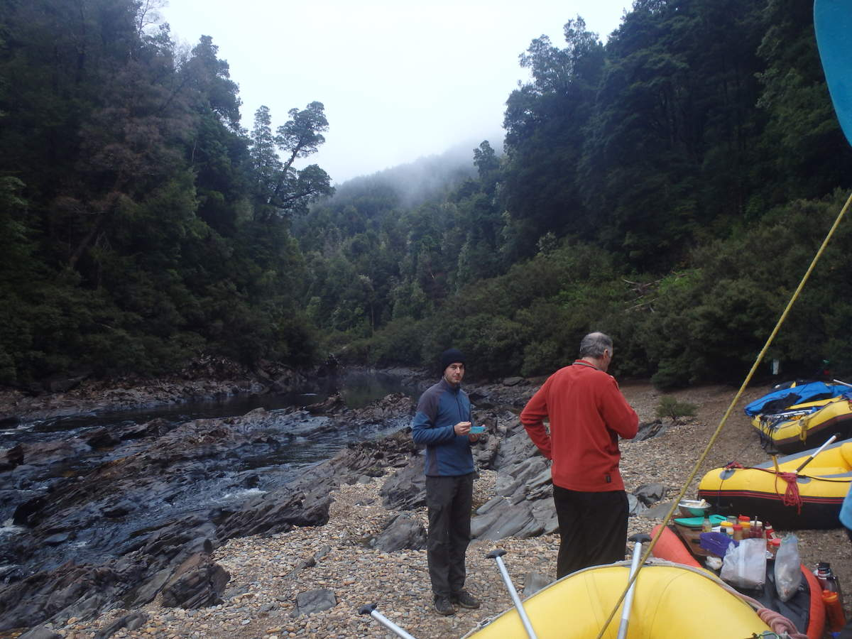 The Lower Beach - Water by Nature Tasmania - Franklin River Rafting
