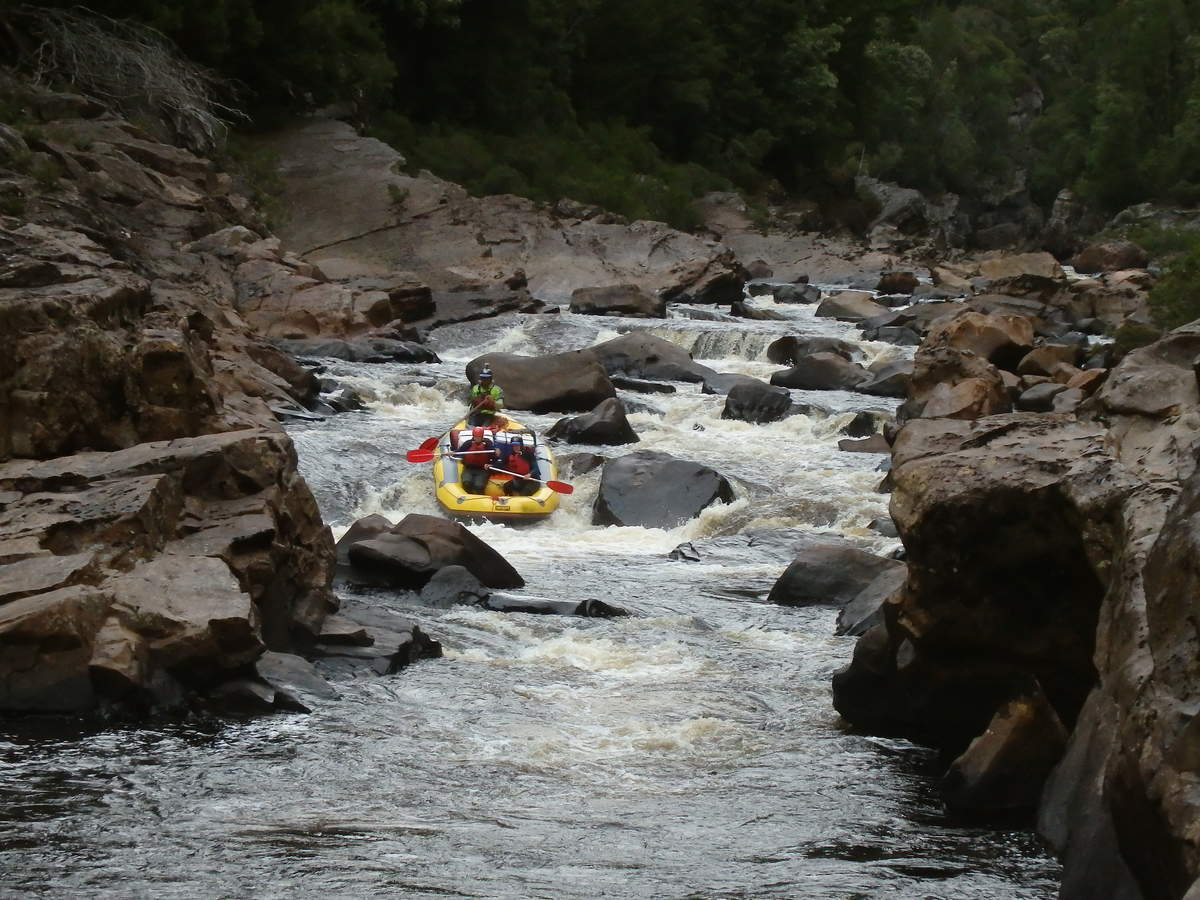 Newlands Cascades - Water by Nature Tasmania - Franklin River Rafting
