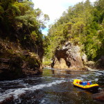 Rock Island Bend - Water by Nature Tasmania - Franklin River Rafting