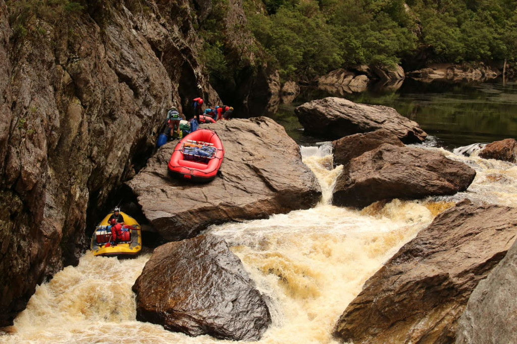 The Wild Thing - at Water by Nature Tasmania, Franklin River Rafting™