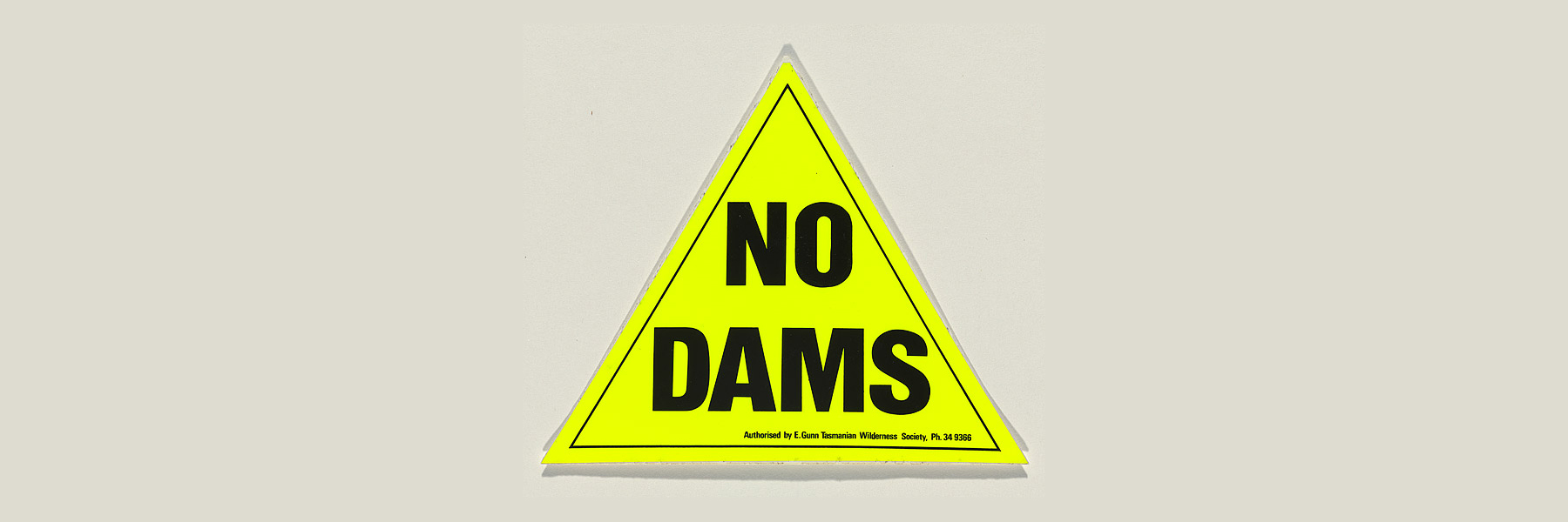 No Dams, The Tasmanian Wilderness Society