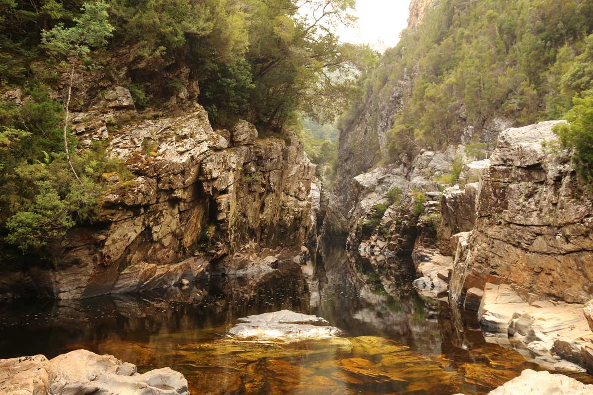 Irenabyss - Chasm of Peace, Franklin River Tasmania